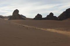 Libyan sahara desert Stock Image