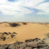 Libysche Wüste. Lizenzfreies Stockfoto