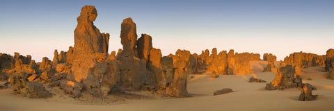 Libysk öken Arkivfoto