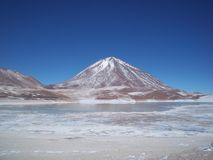 Licancabur火山 库存照片