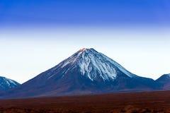Licancabur火山 免版税库存图片