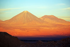 licancabur 2 Photos stock
