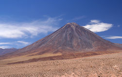 Licancabur Volcano. Volcan Licancabur southern part of bolivian Altiplano Stock Photos