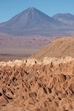Licancabur volcano in Atacama Desert, Chile Stock Photo