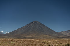 Licancabur volcano 5,916 meters Royalty Free Stock Photography