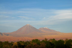Licancabur volcano Stock Photo