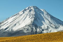 Licancabur wulkan Zdjęcia Stock