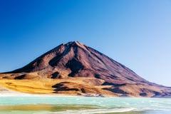 Licancabur wulkanu widok Zdjęcia Royalty Free