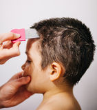 Lice treatment Stock Photo
