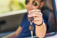A licença de motorista Fotografia de Stock Royalty Free