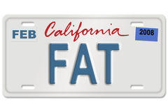 License plate Stock Photography