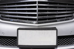 License Plate Closeup Royalty Free Stock Photography