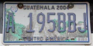 License plate Stock Photos