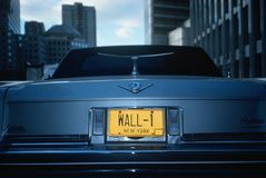 License Plate  in  New York Stock Photos