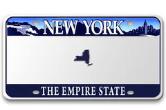 License plates Stock Images