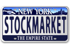 License plates Stock Image