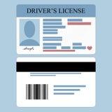 Licenza di driver Fotografia Stock