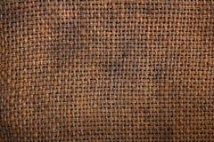 Licenziamento naturale della tela di iuta della tela da imballaggio Fotografia Stock