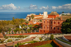 Liceo de taoro in La Orotava. Tenerife, Canary Islands royalty free stock image