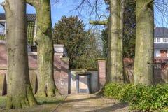 Liceo di Nieuwe del monumento Fotografia Stock Libera da Diritti