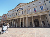 Liceo St Cecilia in Como Royalty Free Stock Photo