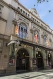 Liceu剧院在巴塞罗那 免版税库存图片