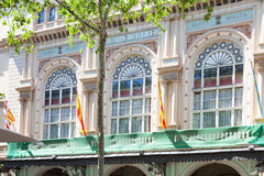 Liceu Barcelona Stock Photography
