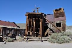 Lichaam, de spookstad, Californië Stock Afbeelding
