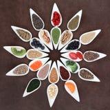 Lichaam die Super Voedsel bouwen Royalty-vrije Stock Afbeelding