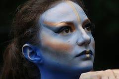 Lichaam-Schilderende van NYC Jaarlijkse Dag Stock Foto