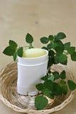 Lichaams transpiratiewerende deodorant stock afbeeldingen
