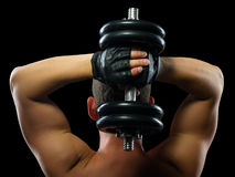 Lichaamsbeweging op de sterkte van Stock Fotografie