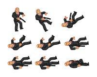 Lichaamswacht Animation Sprite Stock Afbeeldingen