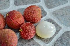 Lichee Asian fruit Royalty Free Stock Photos