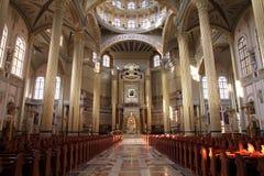 Lichen basilica, Poland Stock Photos