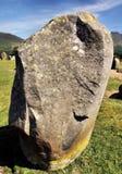 Lichen Covered Castlerigg Stone Monolith imágenes de archivo libres de regalías