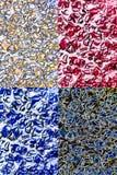 Lichen sous le microscope Photographie stock