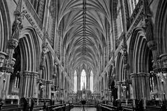 Lichfield Cathedral Royalty Free Stock Image