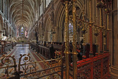 Lichfield Cathedral Quire Royalty Free Stock Photo