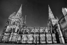 Lichfield katedra obrazy royalty free