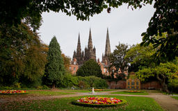 Lichfield Memorial Garden Stock Photo