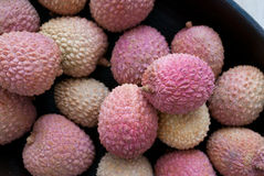 Lichi. Close up of fresh Lichi Royalty Free Stock Images