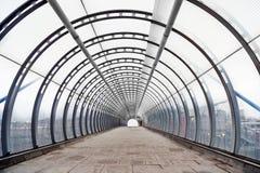 Licht aan het eind van de tunnel Royalty-vrije Stock Afbeelding