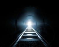 Licht aan het eind van de Tunnel Royalty-vrije Stock Fotografie