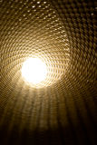 Licht aan het eind van een tunnel Royalty-vrije Stock Afbeelding
