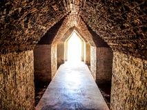 Licht aan het eind van tunnel Royalty-vrije Stock Afbeeldingen