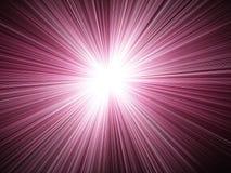 Licht & de Achtergrond van Stralen Stock Foto's
