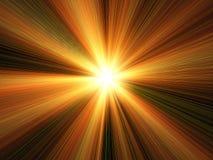 Licht & de Achtergrond van Stralen Stock Afbeeldingen