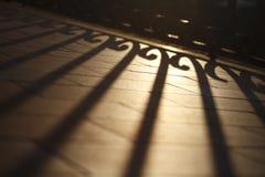 Licht & schaduw stock foto's