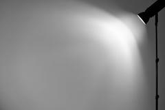 Licht auf der Wand. Lizenzfreie Stockfotos